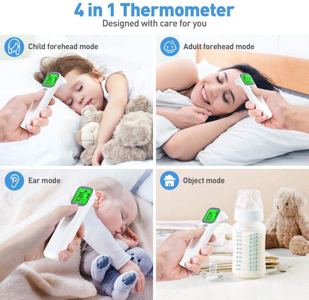 IDOIT 4 in 1 miglior termometro neonato 2021
