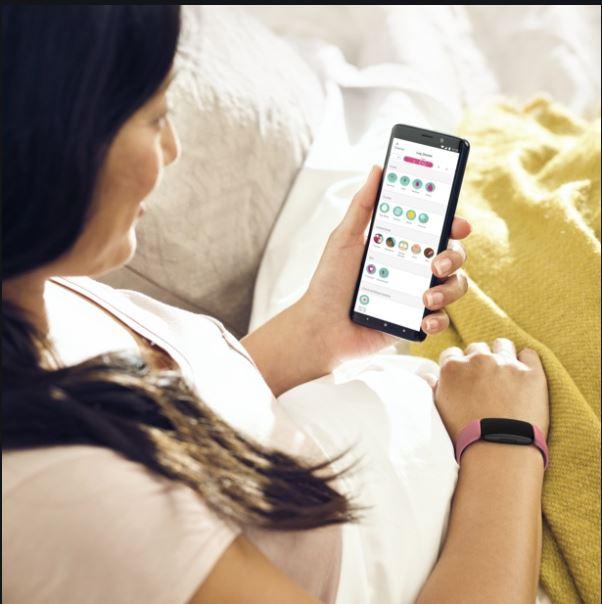 Fitbit tracker per restare incinta subito