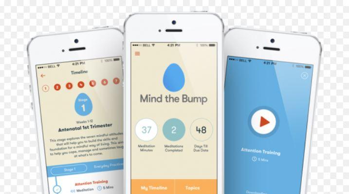 Mind the Bump app meditazione genitori
