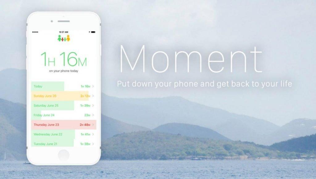 Moment app controllo parentale