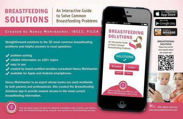 Nancy Mohrbacher Breastfeeding Solutions