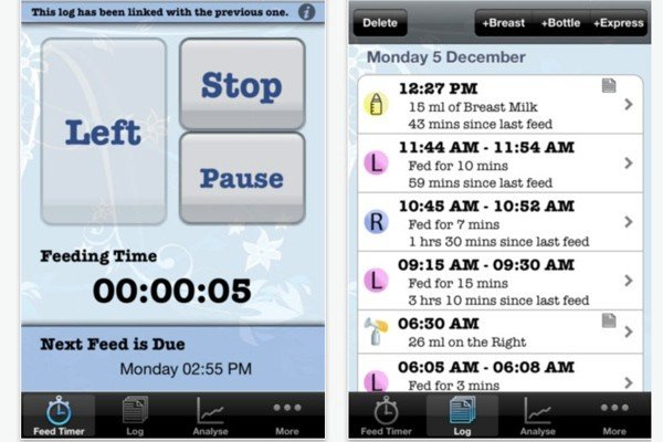 iBaby Feed Timer