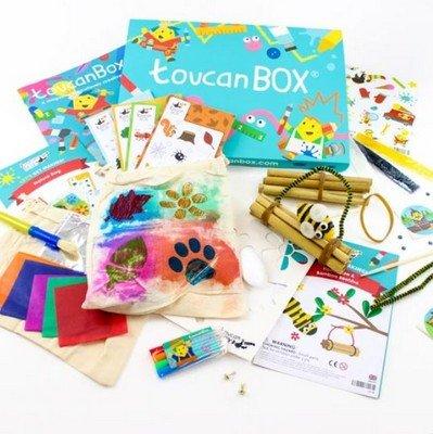 Box mensili regalo alternativo bambini che hanno tutto