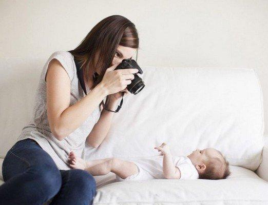 Come fotografare bambini nel primo anno di vita