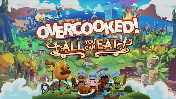 Overcooked All You Can Eat videogioco per famiglie