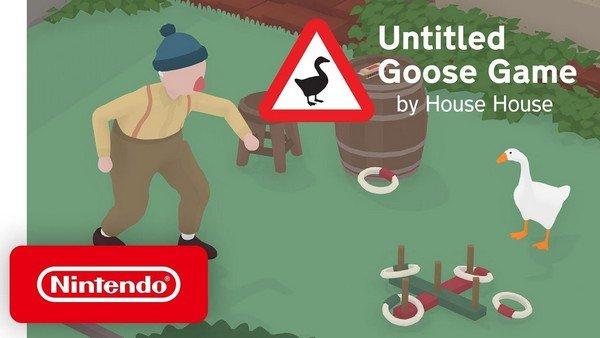 Untitled Goose Game videogames per famiglie