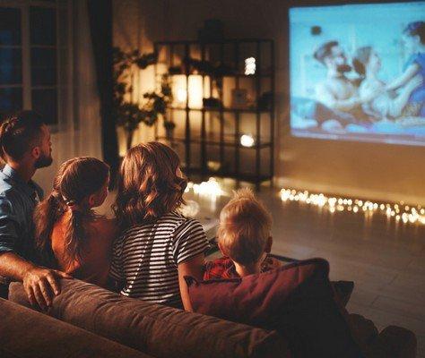 Come trasformare la casa in un cinema