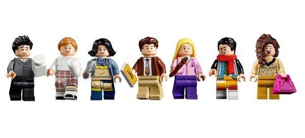 Lego Friends mini figures
