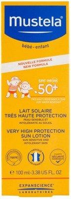 Mustela Latte Solare crema bambini migliore inci 2021
