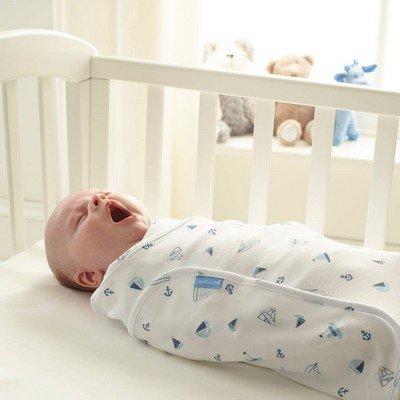 Non fasciare troppo il neonato