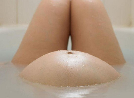 Posso fare il bagno in gravidanza