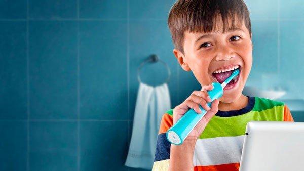 Le app per lavare i denti ai bambini