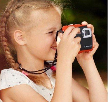 Ebtloos macchina fotografica subacquea bambini