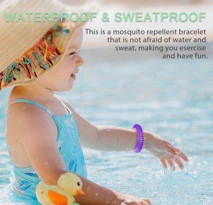 Entligent braccialetti antizanzare bambini
