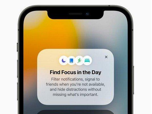 Focus iOS 15