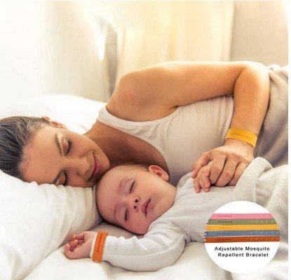 Herefun braccialetto antizanzare bambini