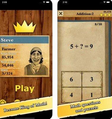 King of Math app gratuita matematica scuola primaria