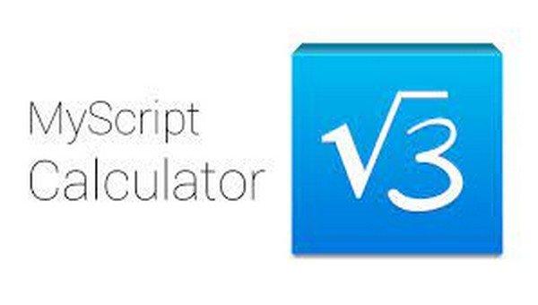 MyScript Calculator app per risolvere problemi matematica online