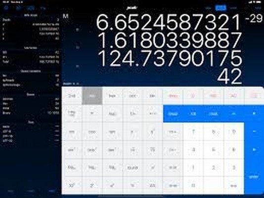 PCalc app risolvere problemi matematica online