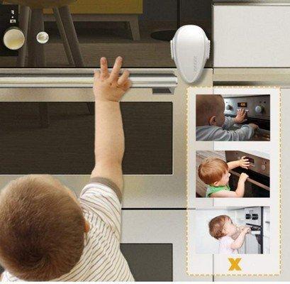 Serratura per forno rendere sicura casa bambini