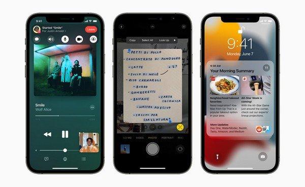 Testo Live iOS 15