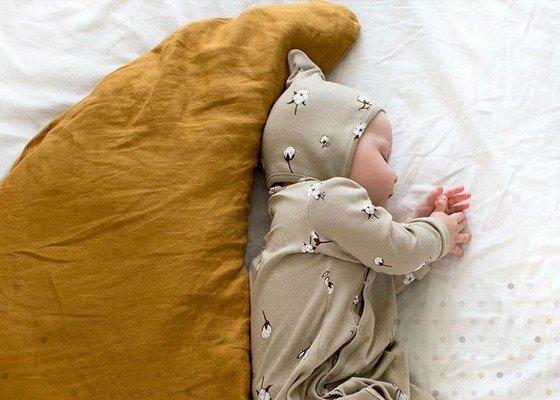 Cotone organico per cameretta ecologica bambini