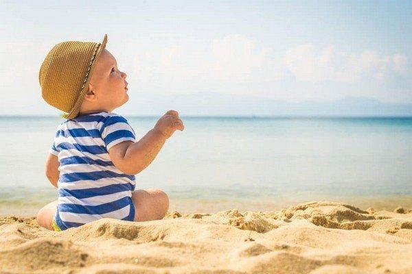 La crema solare è pericolosa per i bambini
