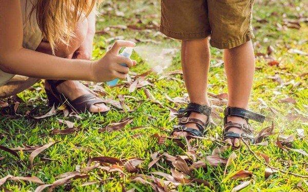 Spray antizanzare per bambini