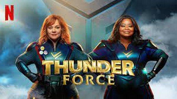Thunder Force film supereroi 2021