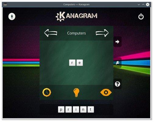 Kanagram Linux