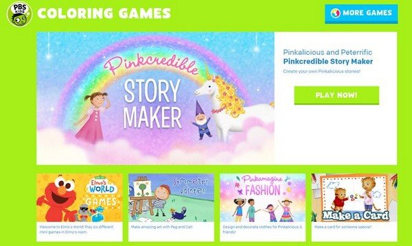 PBS-Coloring-Games