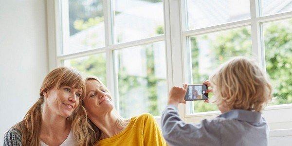 condividere foto privatamente in famiglia