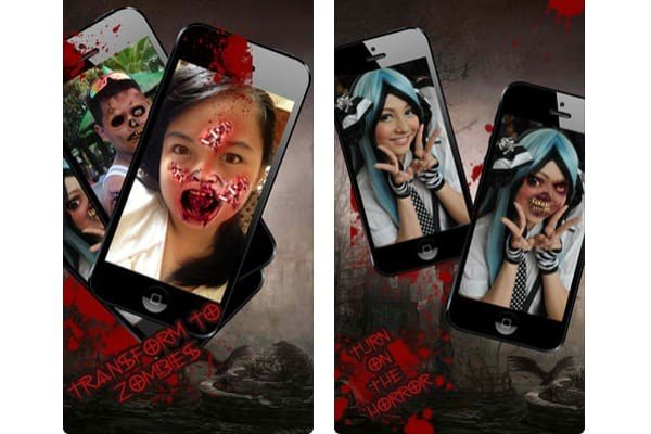 Halloween Photo Booth – Monster & Zombie Maker